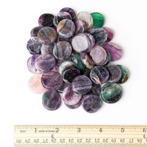 Fluorite - Palm Stone Small (1 lb parcel)