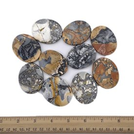 Maligano Jasper - Palm Stone Large (10 piece parcel)