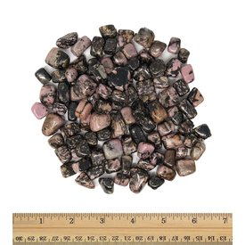 Rhodonite - Tumbled Micro (1 lb parcel)