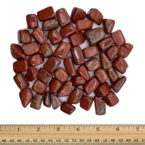 Red Jasper - Tumbled Small (1 lb parcel)