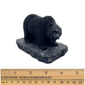 Shungite - Compression Figurine - Bear