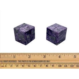 Charoite - Cube (3cm)