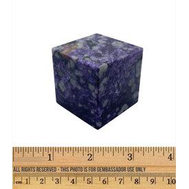 Charoite - Cube (5cm)
