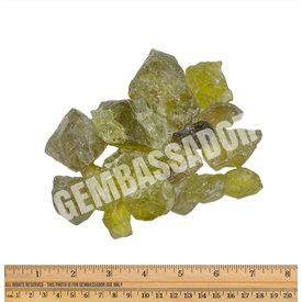 Green/Gold Citrine - Rough (1 lb parcel)