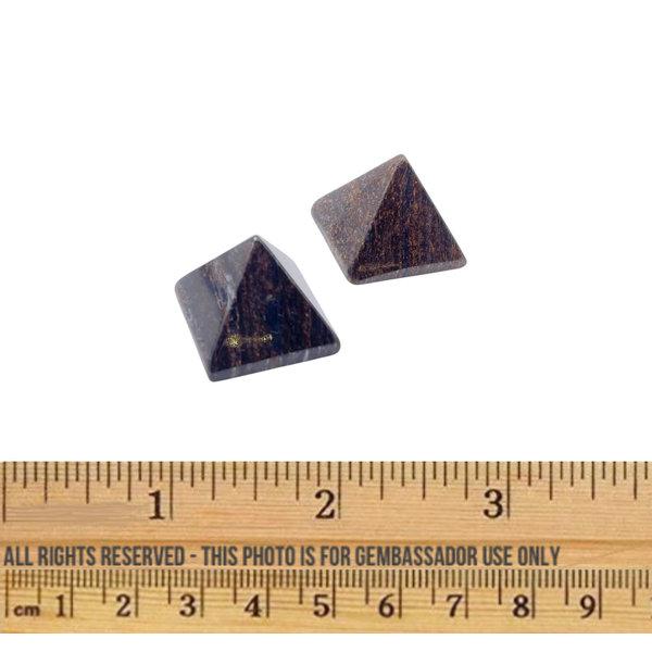 Bronzite  - Micro Pyramid