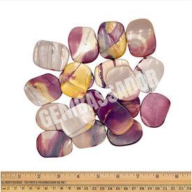 Mookaite Jasper - Palm Stone Large (1 lb parcel)