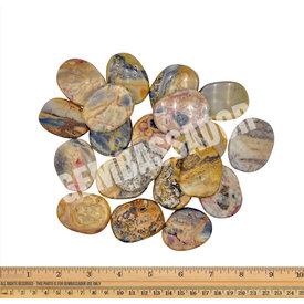 Crazy Lace Agate - Palm Stone Large (1 lb parcel)