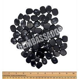 Snowflake Obsidian - Palm Stone Small (1 lb parcel)