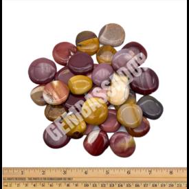 Mookaite Jasper - Palm Stone Small (1 lb parcel)
