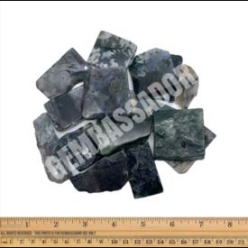 Moss Agate - Slabs (1 lb parcel)