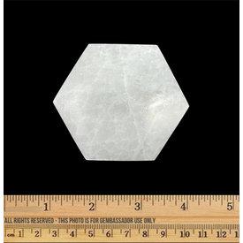 Selenite - Charging Plate - Hexagon (6 cm)