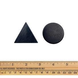 Shungite - Pocket Harmonizers (Triangle/Circle)