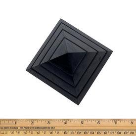 Shungite - Pyramid - Sakkara  (10 cm)