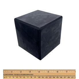 Shungite - Standing Cube (8 cm)