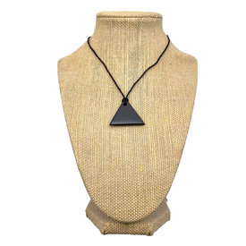Shungite - Pendant - Triangle (Top Hanging)