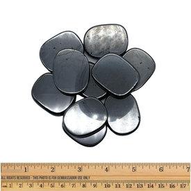 Hematite - Palm Stone Large (10 piece parcel)