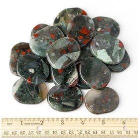 Bloodstone - Palm Stone Large (1 lb parcel)