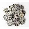 Dalmatian Jasper - Palm Stone Large (1 lb parcel)