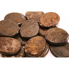 Bronzite - Palm Stone Large (1 lb parcel)