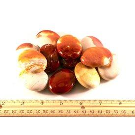 Mookaite Jasper - Palm Stone Pillow (12 piece parcel)