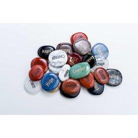 Word Stones (25pcs or 50pcs)