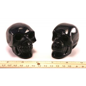 Blue Goldstone - Skulls (3 inch)