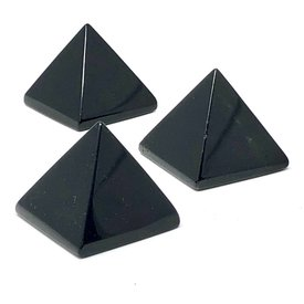Black Obsidian - Mini Pyramid