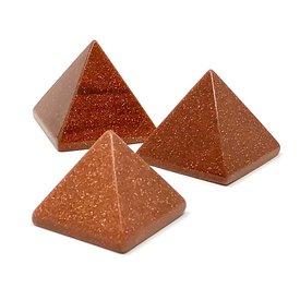 Goldstone - Mini Pyramid