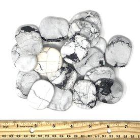 Howlite - Palm Stone Large (1 lb parcel)