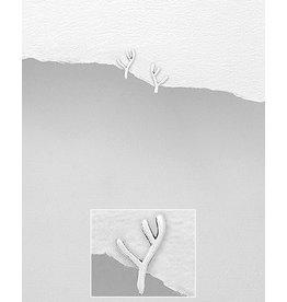 Sterling Studs- Antlers