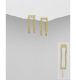 glimmer Bar/Chain Studs