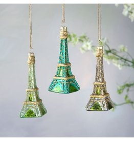 180 Degrees Cool Shades Eiffel Tower Ornaments