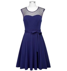 Frock It Sabrina Dress in Navy