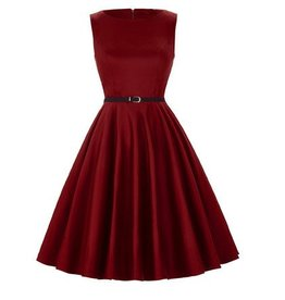 Frock It Paulie Dress in Dark Red