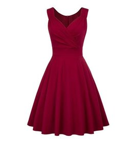 Frock It Joselyn Dark Red Dress