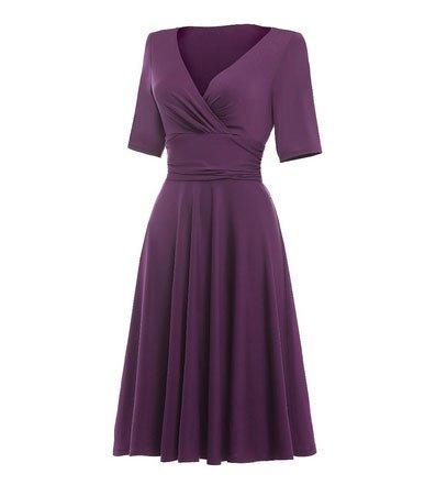 Frock It Brianne Mid Sleeve Dress