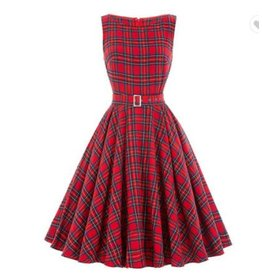 Frock It Anna Plaid Swing Dress