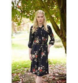 Papillon Jan- Floral Shirt Dress