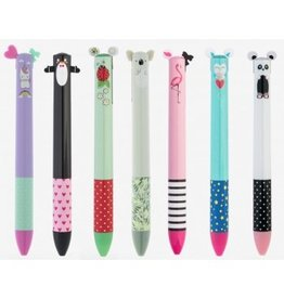 Legami Pen- Click & Clack 2 colour