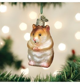 Old World Christmas Hamster Ornament