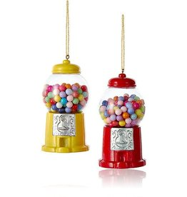 Kurt Adler Resin Gum Machine Ornament