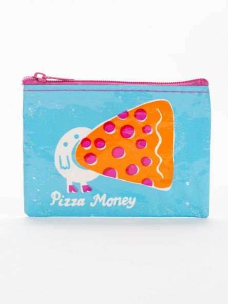 Blue Q Coin Purse-Pizza Money