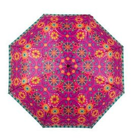 Karma Umbrella- Berry Floral