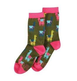 Karma Socks- llamas