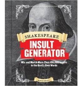 Raincoast Books Shakespeare Insult Generator