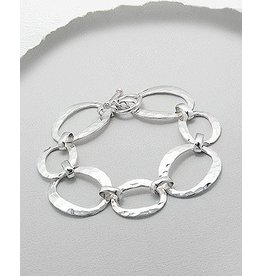Sterling Thick Silver Bracelet