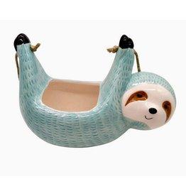 Nostalgia Import Sloth Suspended Pot