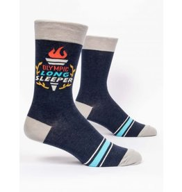 Blue Q Men's Socks- Olympic Long Sleeper