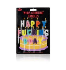 NPW Candles- Happy F*Ing Birthday