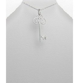 Sterling Necklace- Key